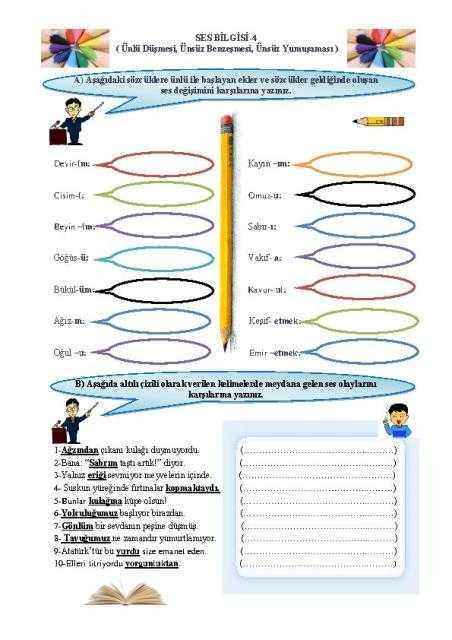 Unlicensed-ses-bilgisi-1a Etkinliklerle Türkçe Kitabı - Kubilay ORAL - Ücretsiz 3 Kitap!