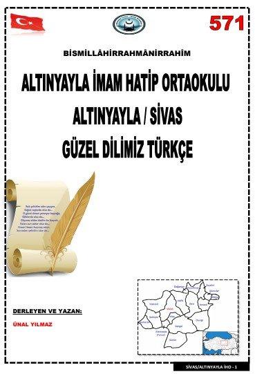 288 Sayfa Turkce Etkinlik Kitabi Turkceci Net Turkce Testleri