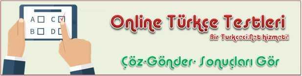 online turkce testleri
