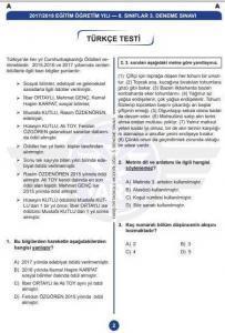 lgs-türkçe-denemesi-203x300 Yarış Ortaokulu 3. LGS Denemesi - Tüm Dersler