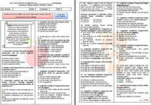 turkce-6.-sınıf-yazılısı-300x208 6. Sınıf Türkçe 2. Dönem 2. Yazılı Sınavı