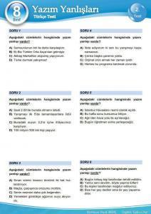 Yazım Kuralları testi 2_1