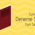 Türkçe Deneme Sınavları (2019-2020)
