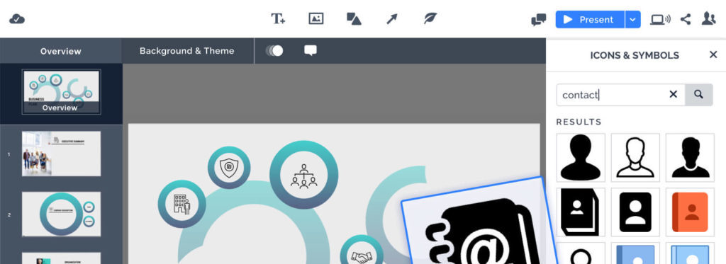Enhance your Prezi presentations with 500,000+ new images